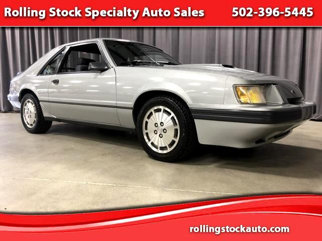 1985 Ford Mustang SVO 3-Door Runabout