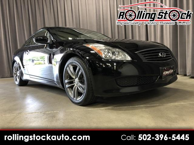2009 Infiniti G Coupe G37 Journey