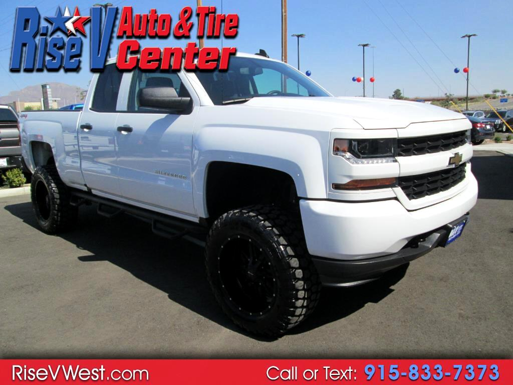 "2018 Chevrolet Silverado 1500 4WD Double Cab 143.5"" Custom"