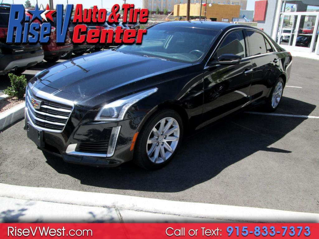 2015 Cadillac CTS Sedan 4dr Sdn 2.0L Turbo Luxury RWD