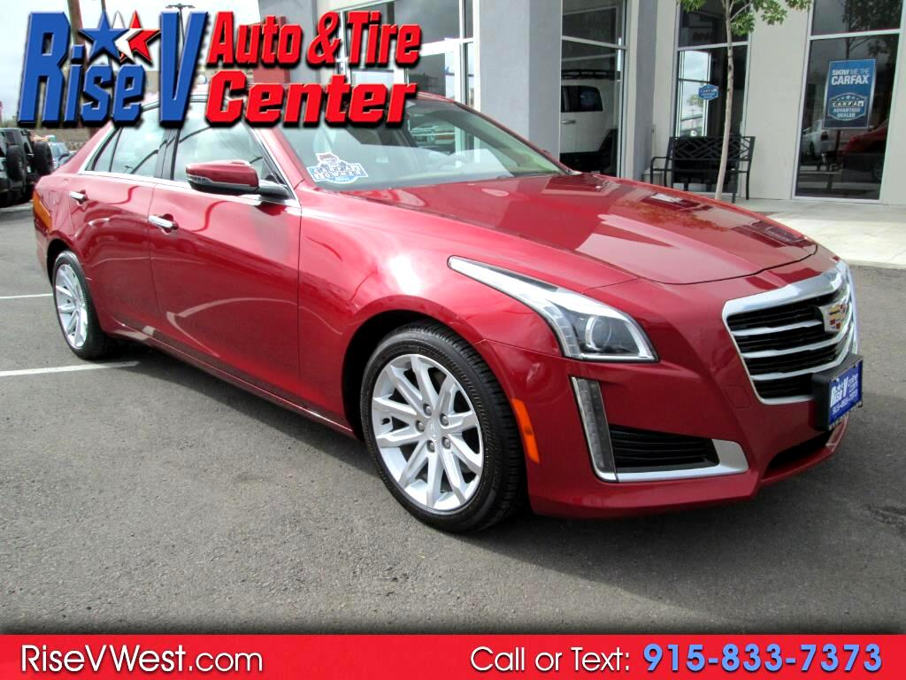 2015 Cadillac CTS Sedan 4dr Sdn 3.6L Luxury RWD