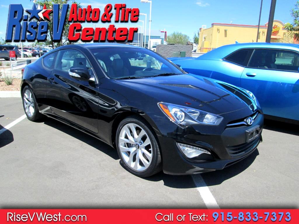 2015 Hyundai Genesis Coupe 2dr 3.8L Auto Base w/Gray Seats