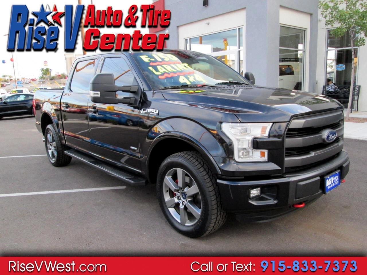 "2015 Ford F-150 4WD SuperCrew 145"" Larait Fx-4"