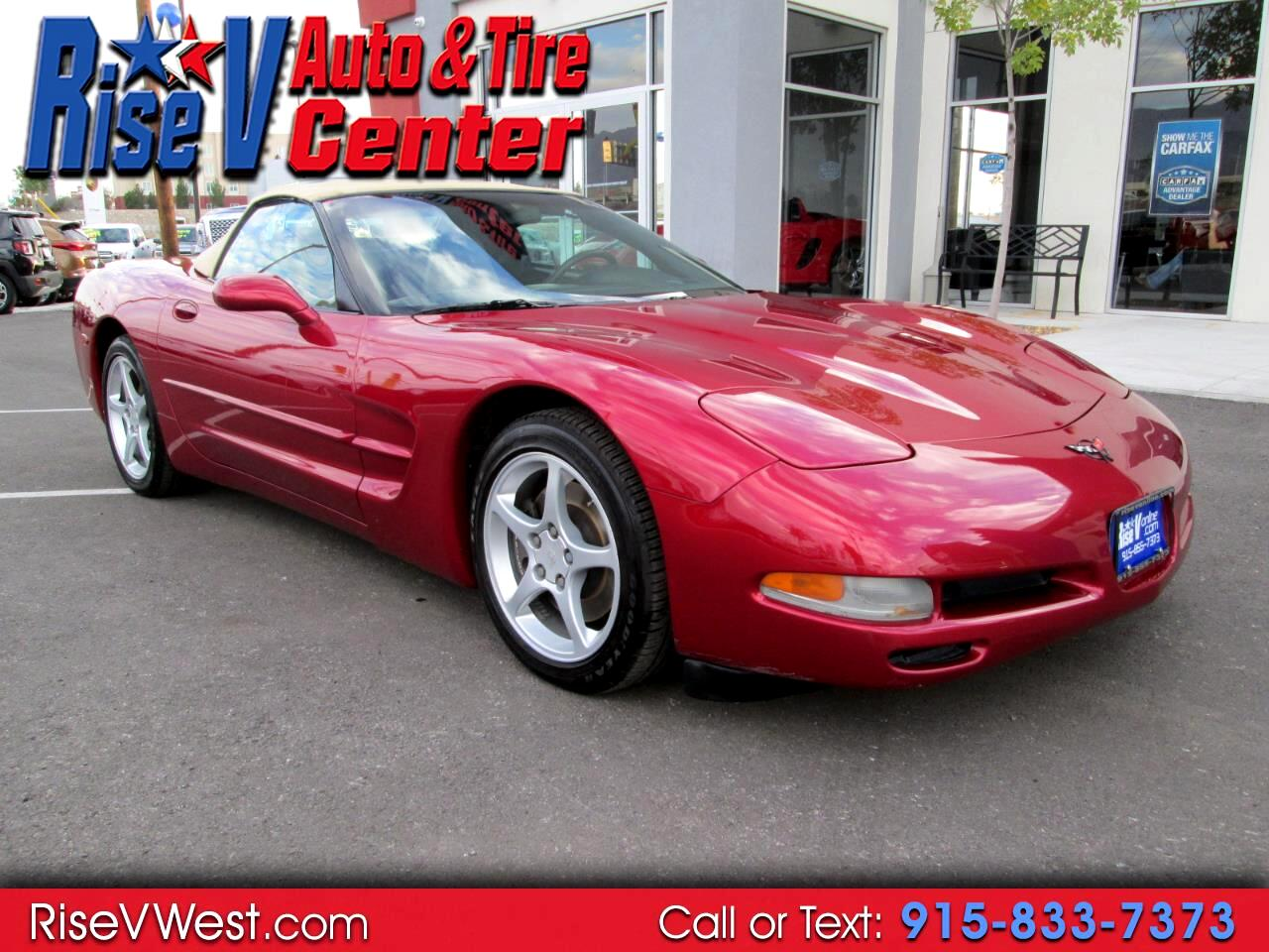 2002 Chevrolet Corvette 2dr Convertible