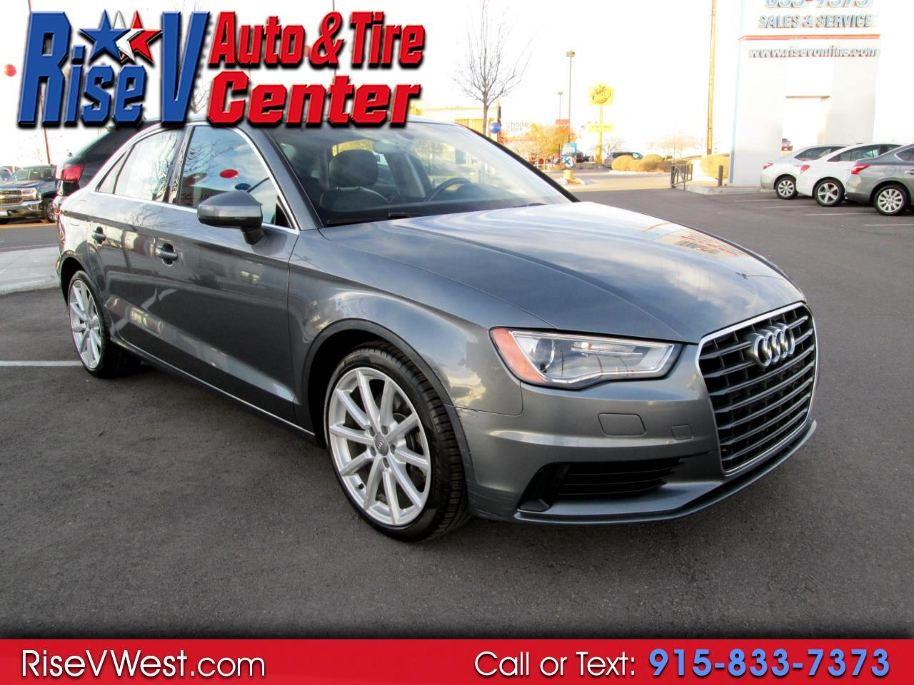 used 2015 audi a3 4dr sdn fwd 1 8t premium plus for sale. Black Bedroom Furniture Sets. Home Design Ideas