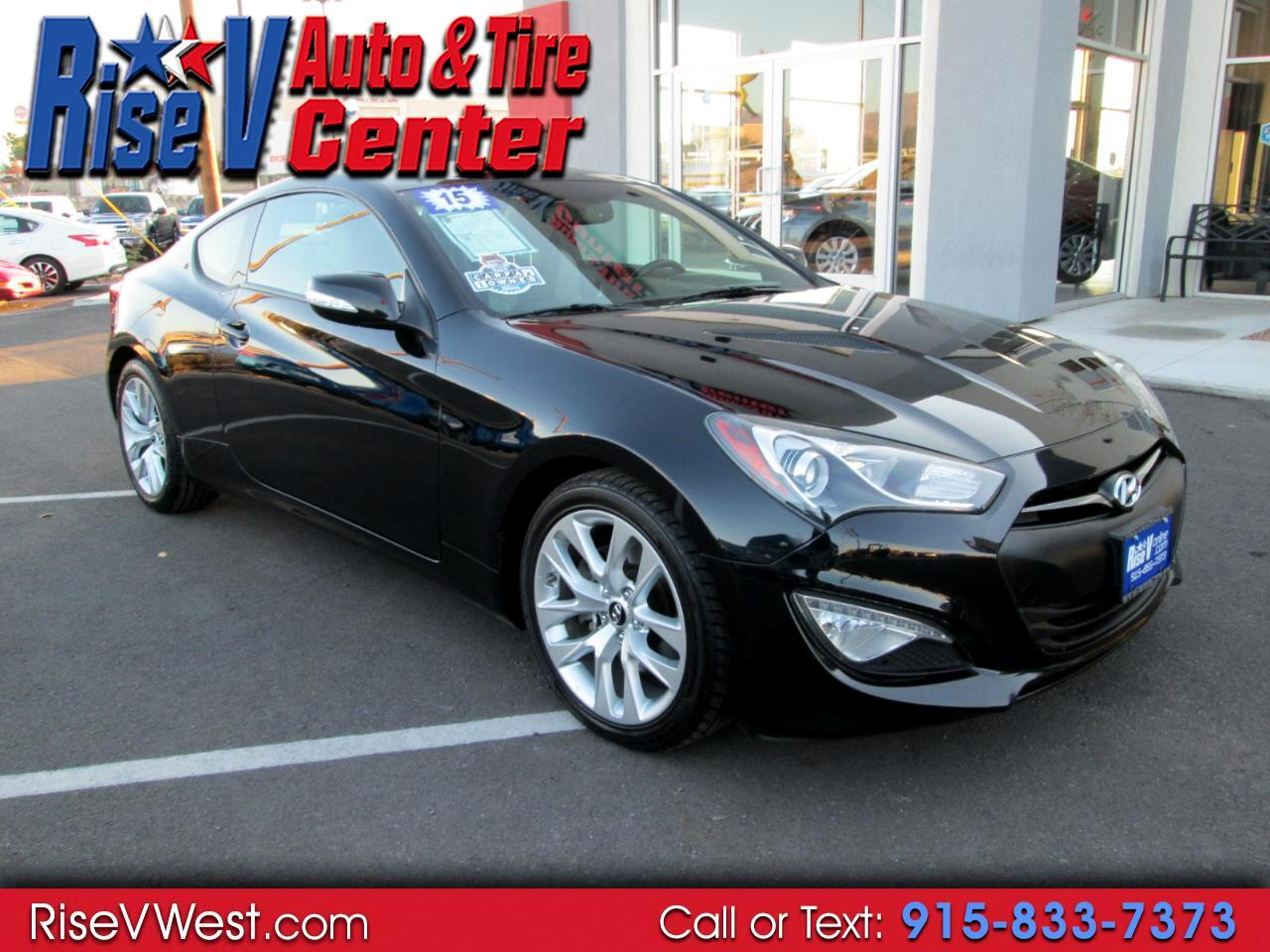 2015 Hyundai Genesis Coupe 2dr 3.8L Auto Base w/Gray Seats
