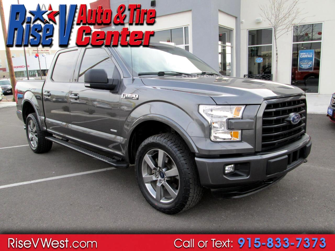 2015 Ford F-150 4WD SuperCrew XLT Sport