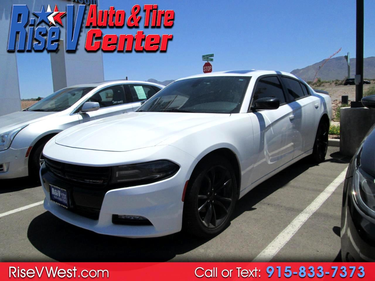 2016 Dodge Charger 4drt Sdn SXT BlackTop