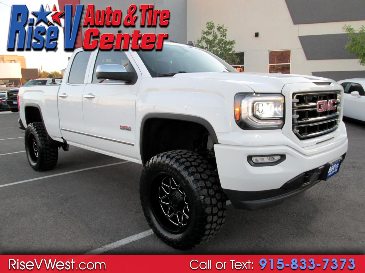 2016 GMC Sierra 1500 4WD Double Cab SLT All Terrain