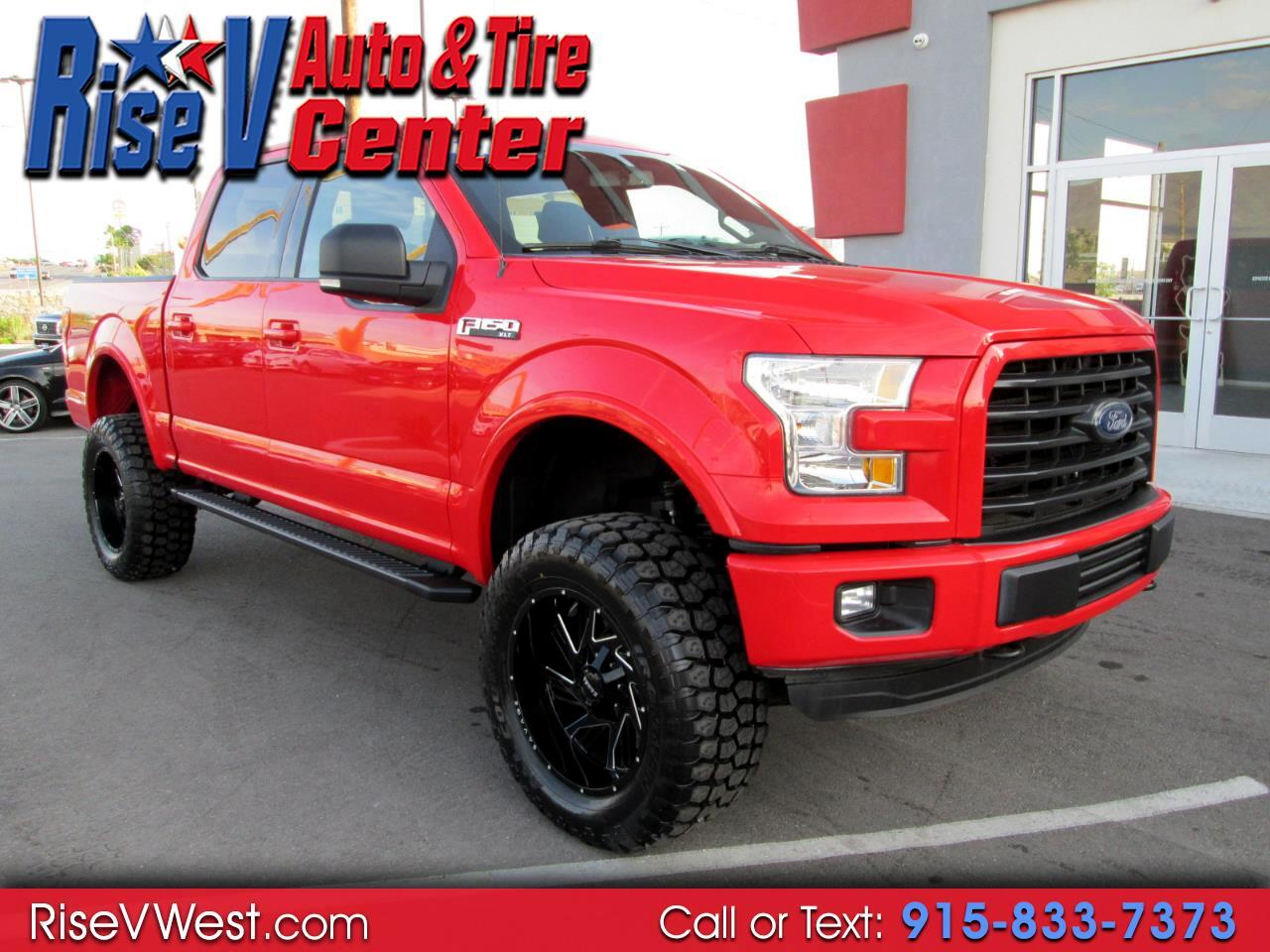 2015 Ford F-150 4WD SuperCrew XLT Fx-4