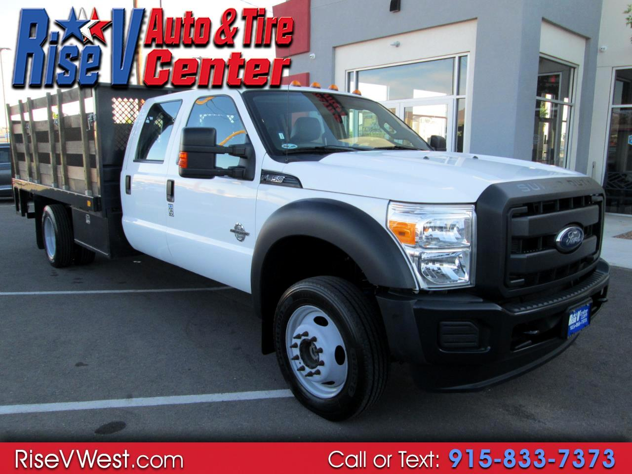 "2015 Ford Super Duty F-550 DRW 4WD Crew Cab 176"" WB 60"" XL"