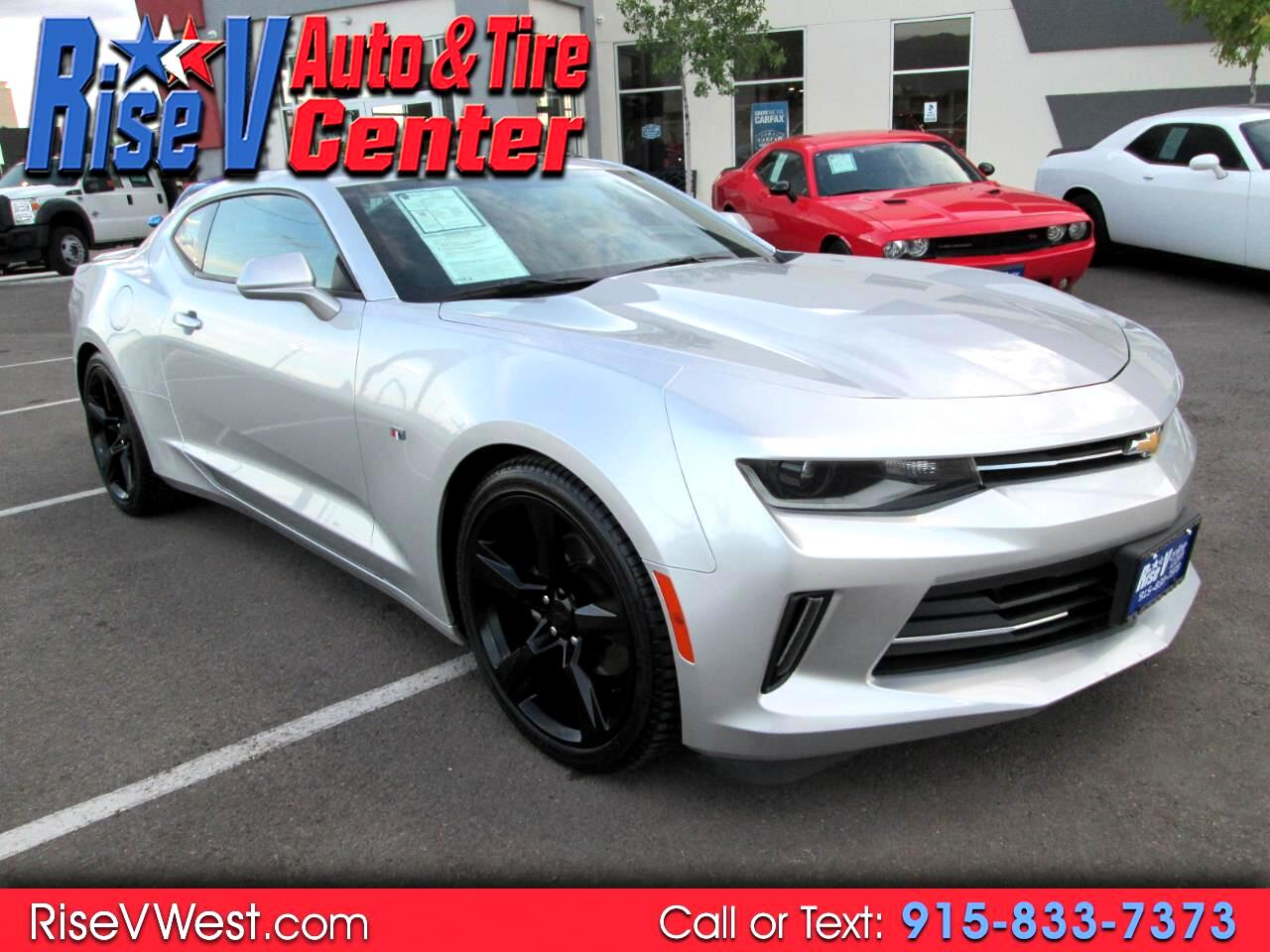 Chevrolet El Paso >> Used 2017 Chevrolet Camaro 2dr Cpe 1lt Rs For Sale In El