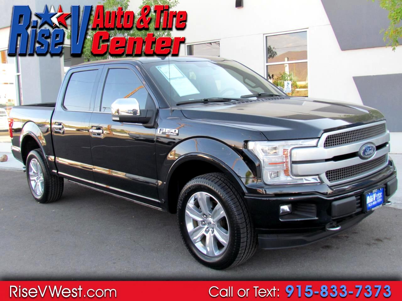 Ford F-150 Platinum SuperCrew 6.5-ft. Bed 4WD 2018