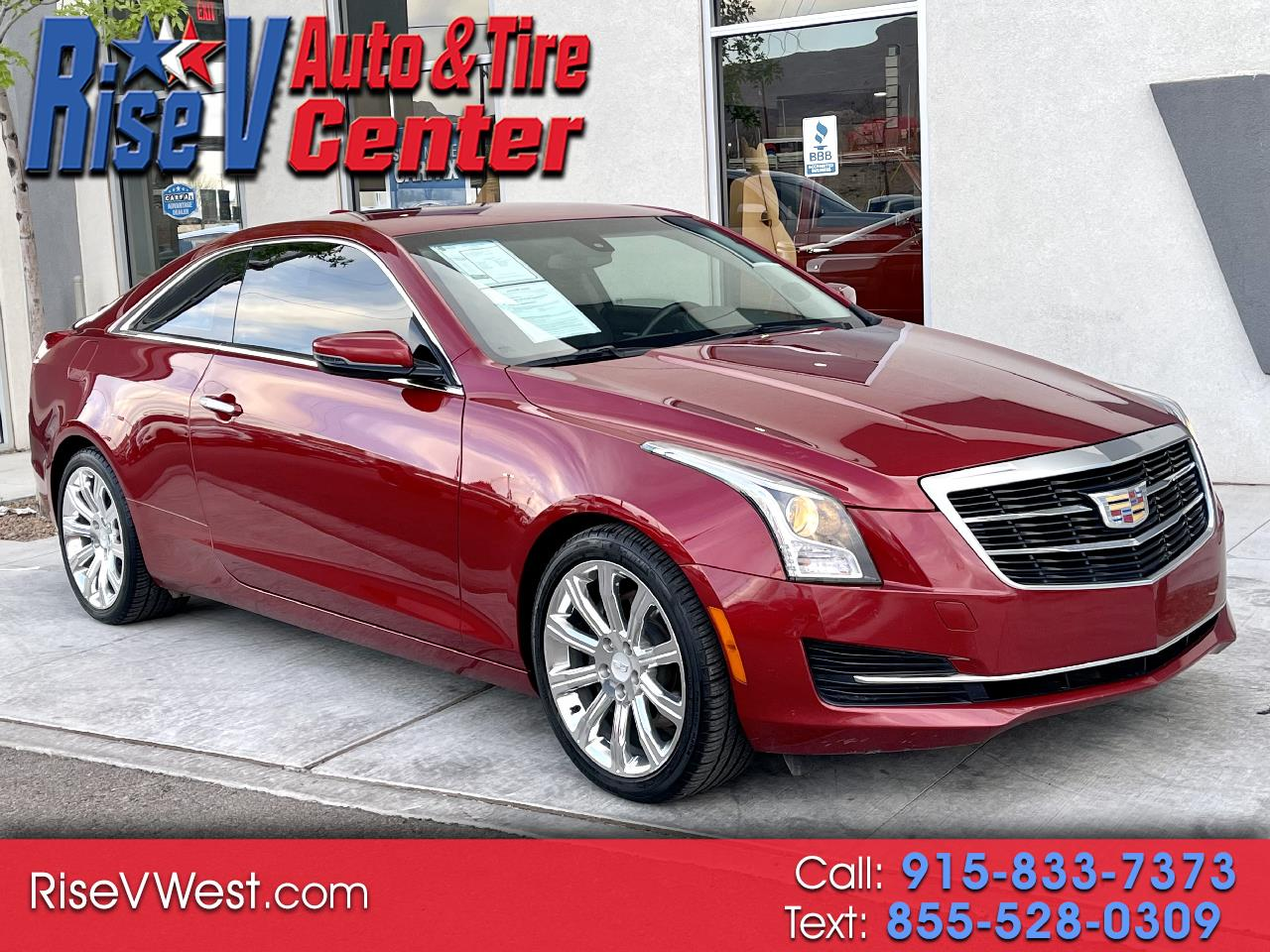 Cadillac ATS Coupe 2.0L Turbo Standard RWD 2015
