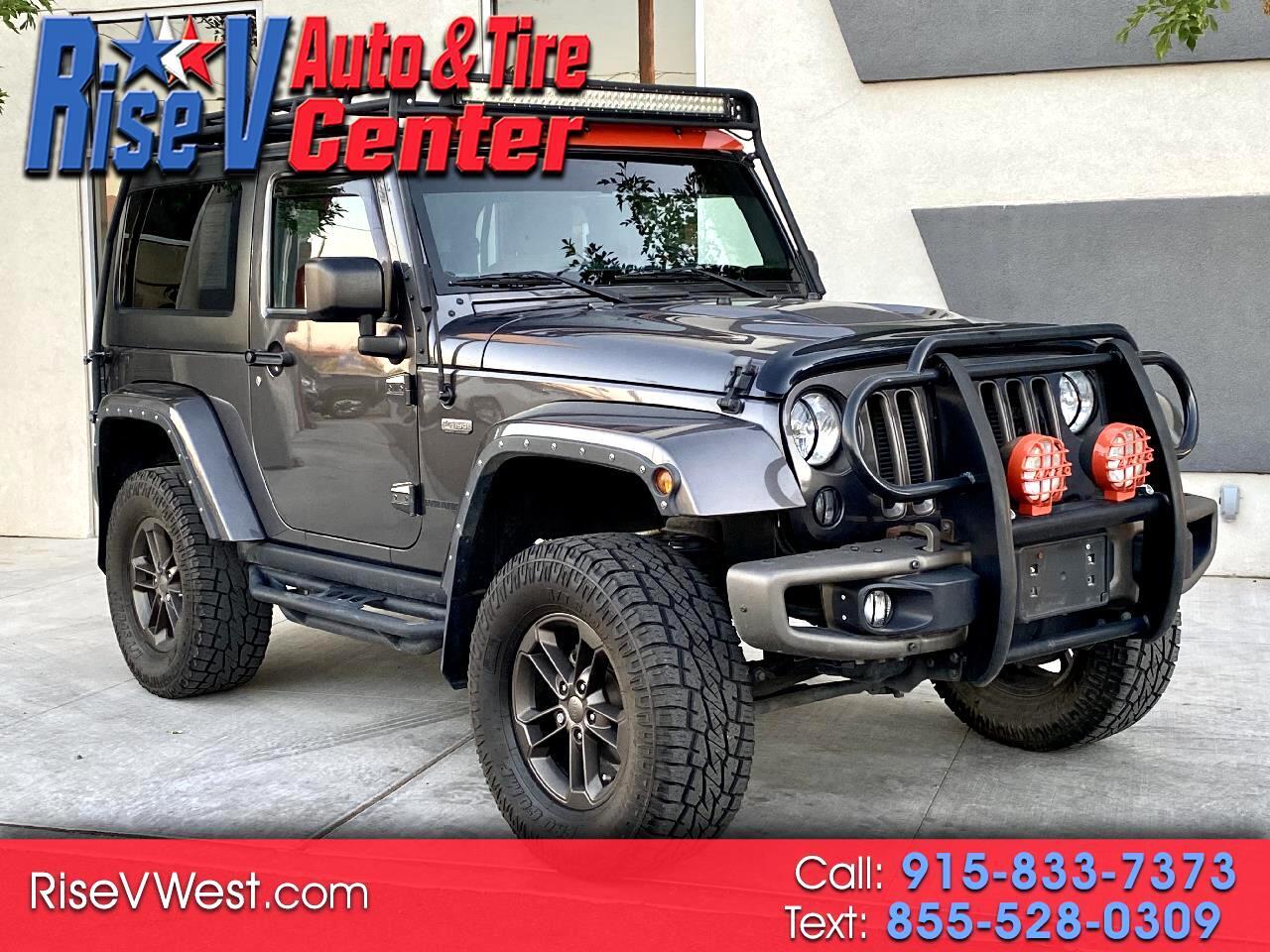 Jeep Wrangler Sahara 4WD 2016