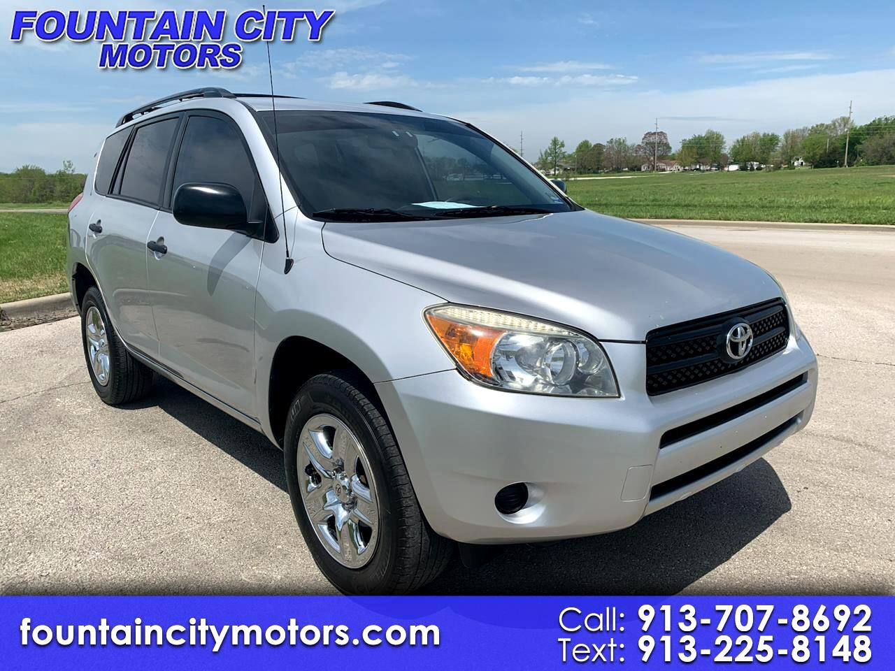 Toyota RAV4 Base I4 4WD with 3rd Row 2007