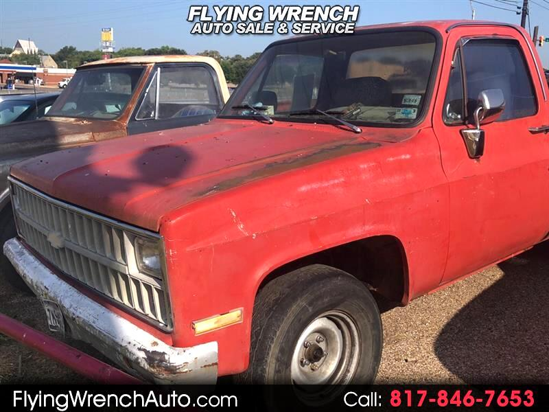 Chevrolet C/K 10 Regular Cab 2WD 1981
