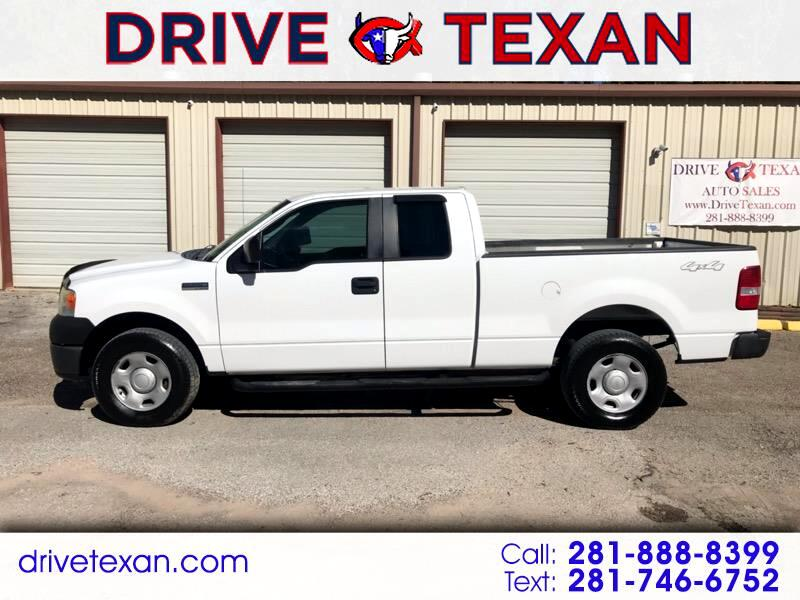 "2008 Ford F-150 4WD SuperCab 145"" XL"