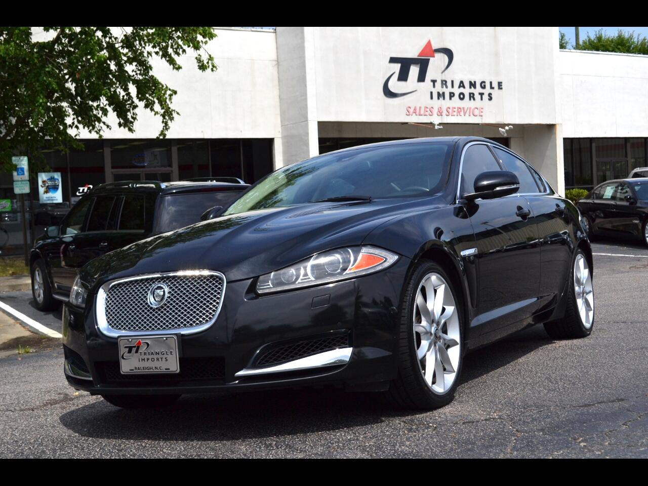 2013 Jaguar XF-Series XF Supercharged