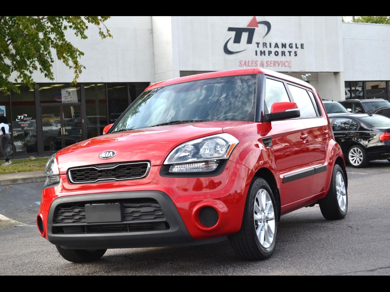 Kia Soul + w/Eco Package 2013