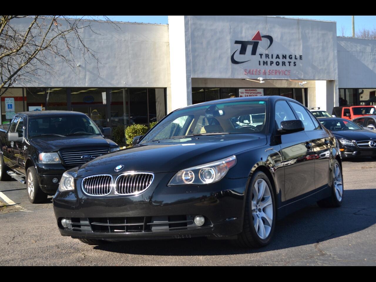BMW 5-Series 550i 2007