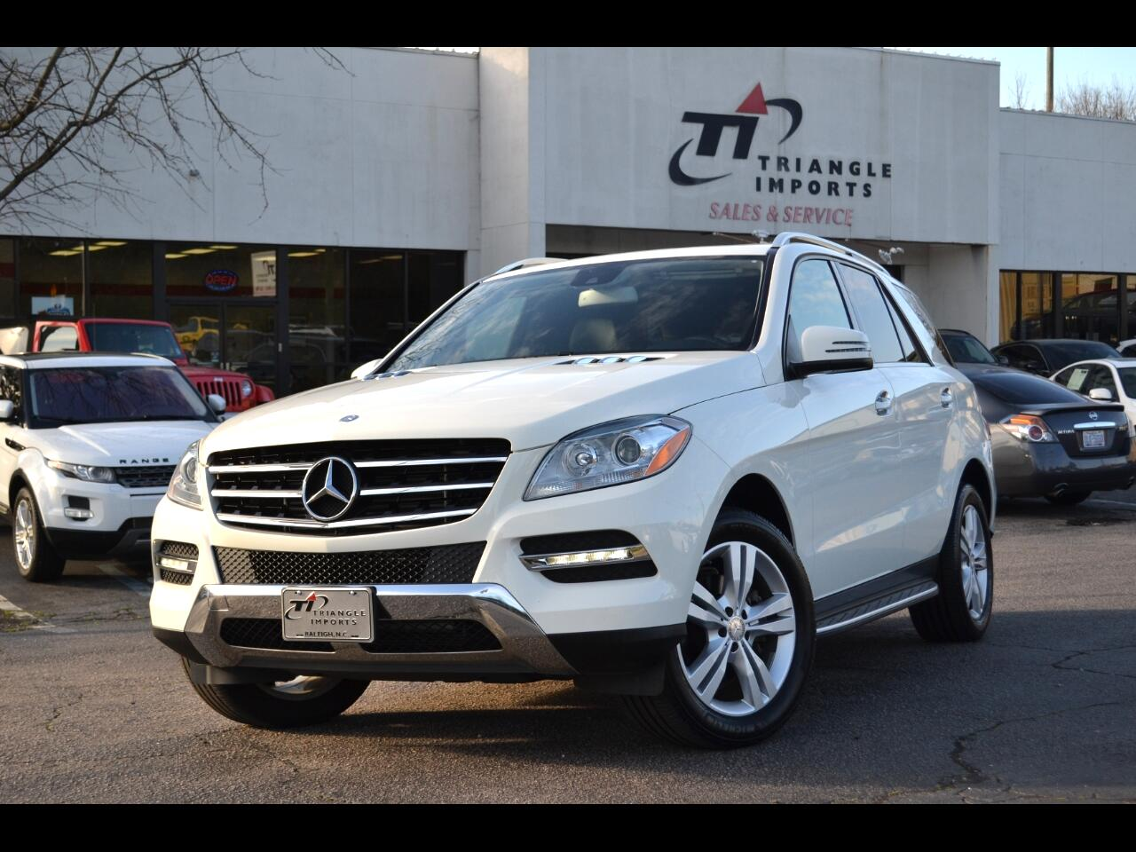 Mercedes-Benz M-Class 4MATIC 4dr ML 350 BlueTEC 2013