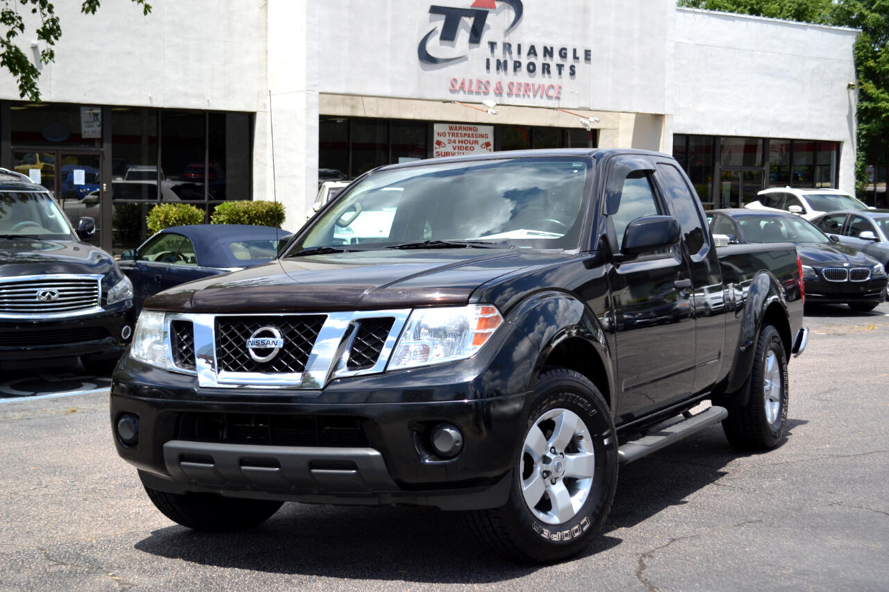 Nissan Frontier 2WD King Cab I4 Auto SV 2012