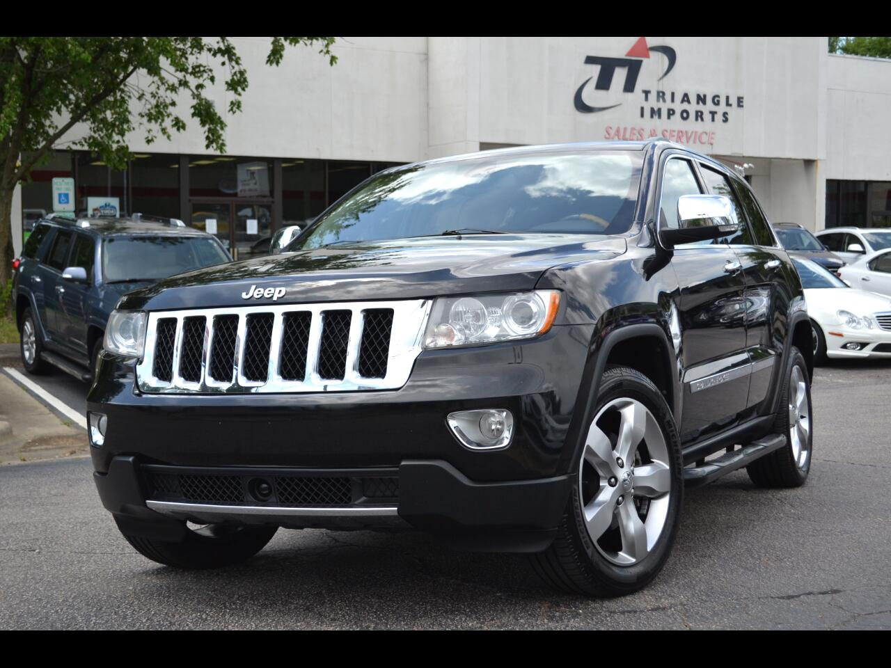 Jeep Grand Cherokee RWD 4dr Overland 2011