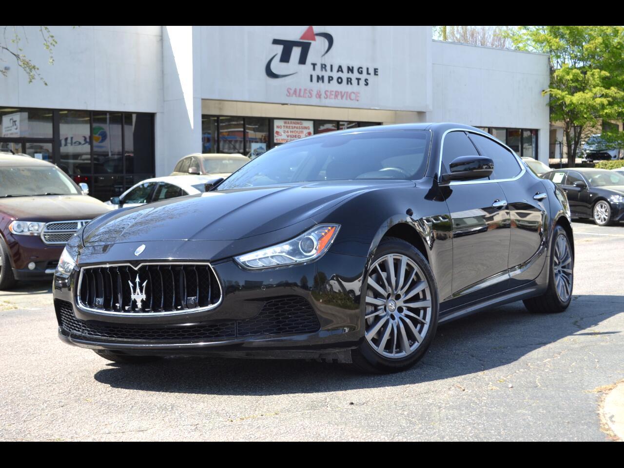 Maserati Ghibli 3.0L 2017