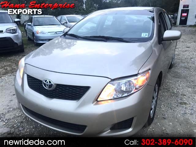 2010 Toyota Corolla Base 5-Speed MT