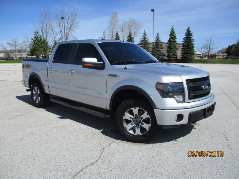 "2013 Ford F-150 SuperCrew 150"" FX4 4WD"