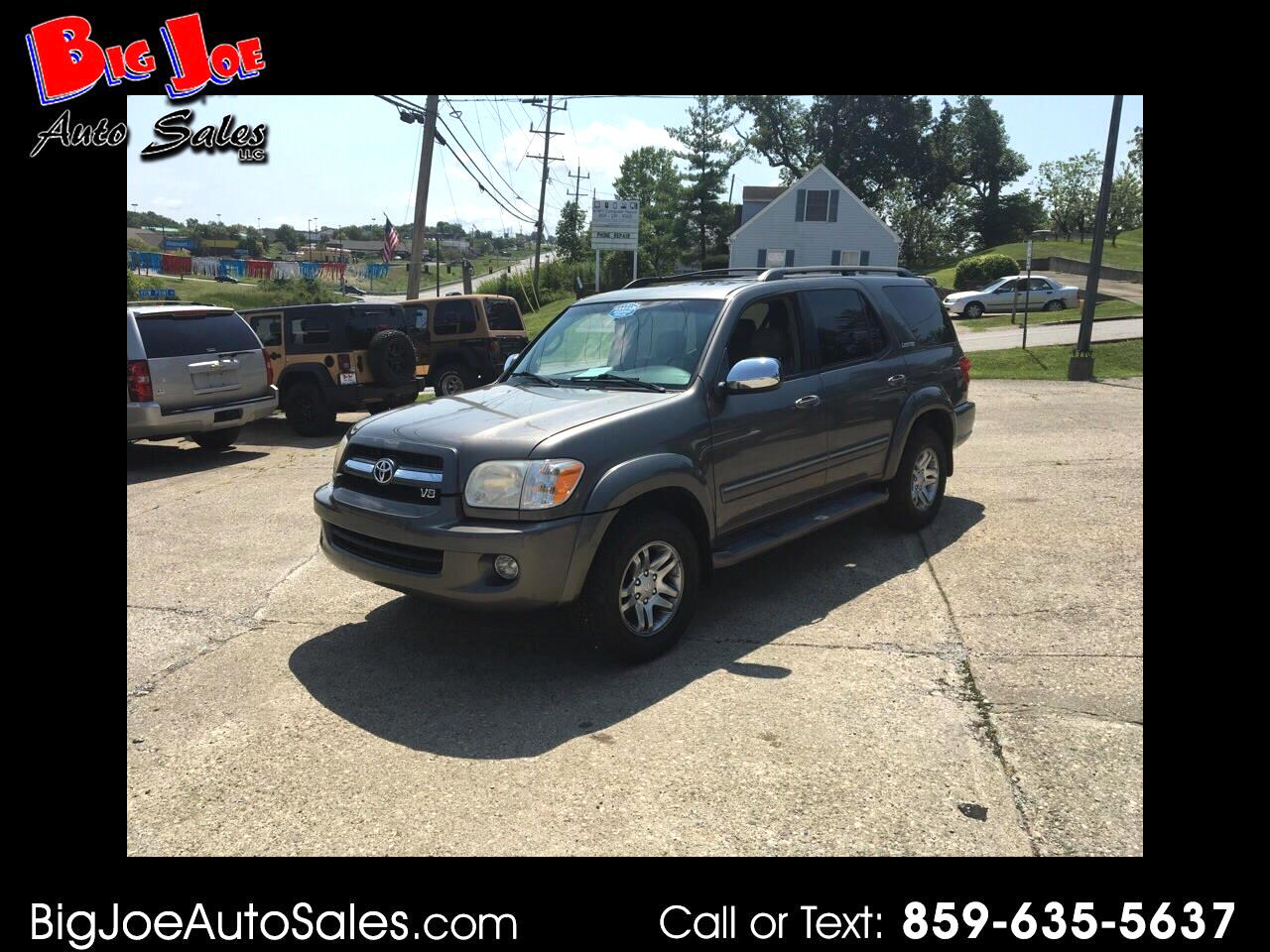 2007 Toyota Sequoia Limited 4WD