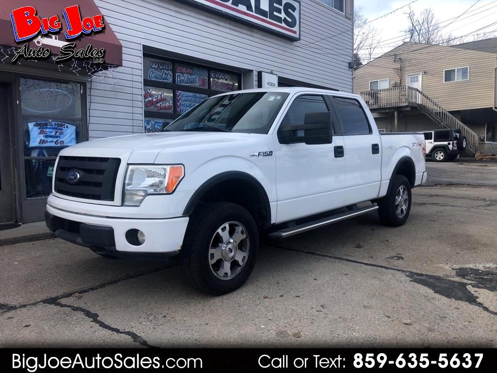 """Ford F-150 4WD SuperCrew 150"""" FX4 2009"""