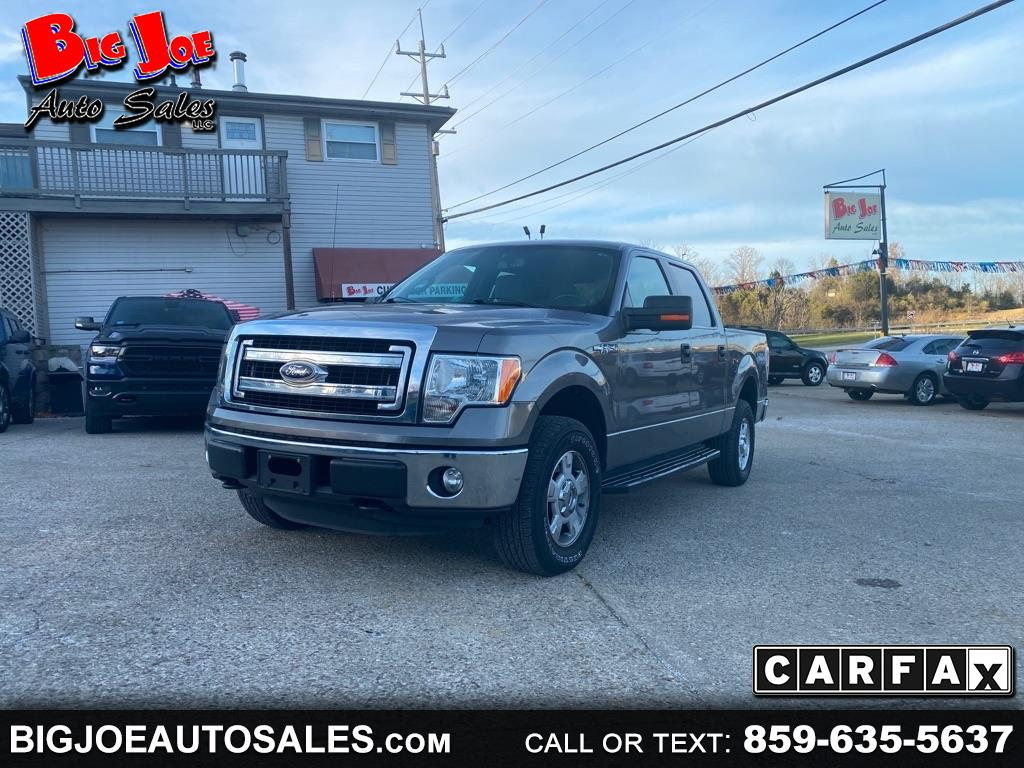 "Ford F-150 4WD SuperCab 163"" XLT 2014"