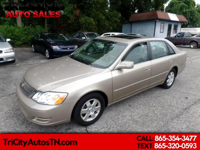 2000 Toyota Avalon 4dr Sdn XL w/Bench Seat