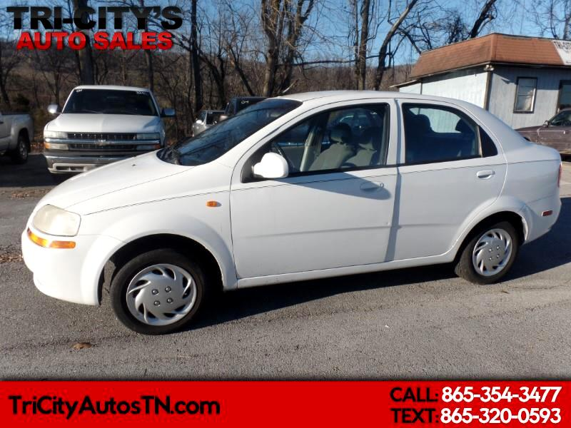 2004 Chevrolet Aveo 4dr Sdn LS
