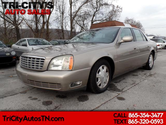 Cadillac DeVille 4dr Sdn 2004
