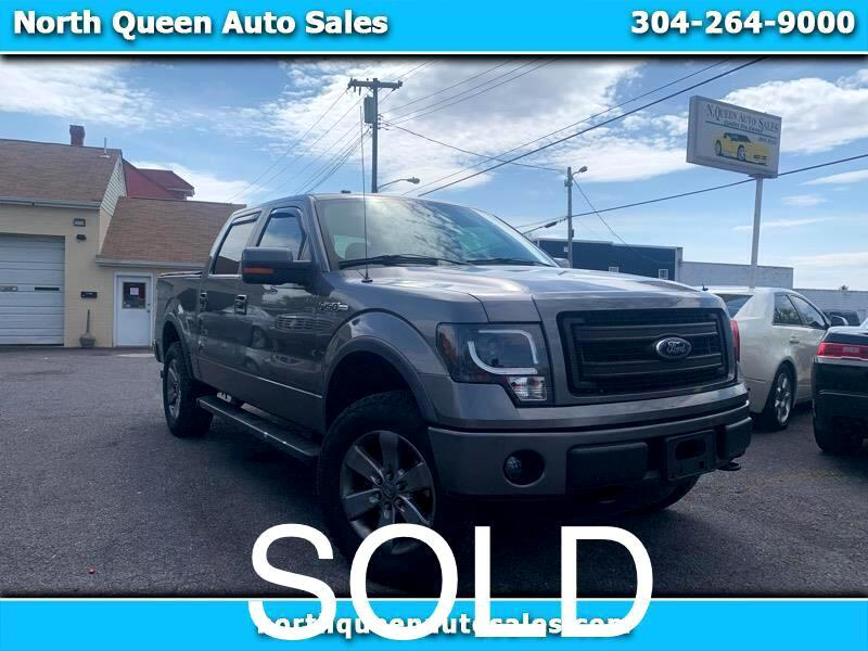Ford F-150 FX4 SuperCrew 6.5-ft. Bed 4WD 2013