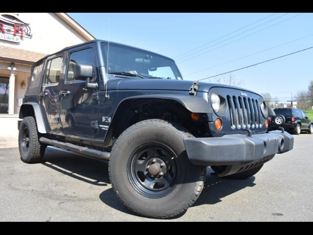 2008 Jeep Wrangler Unlimited X Sport Utility 4D