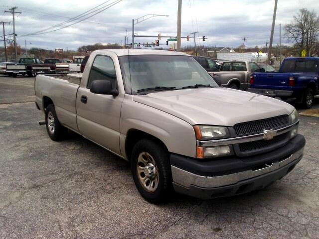 2005 Chevrolet Silverado 1500 Work Truck Short Bed 2WD