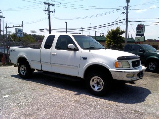 """1998 Ford F-150 Supercab 139"""" 4WD"""