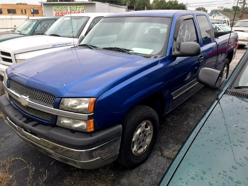2003 Chevrolet Silverado 1500 Ext Cab 143.5
