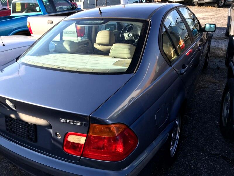 1999 BMW 3 Series 323I 4dr Sdn