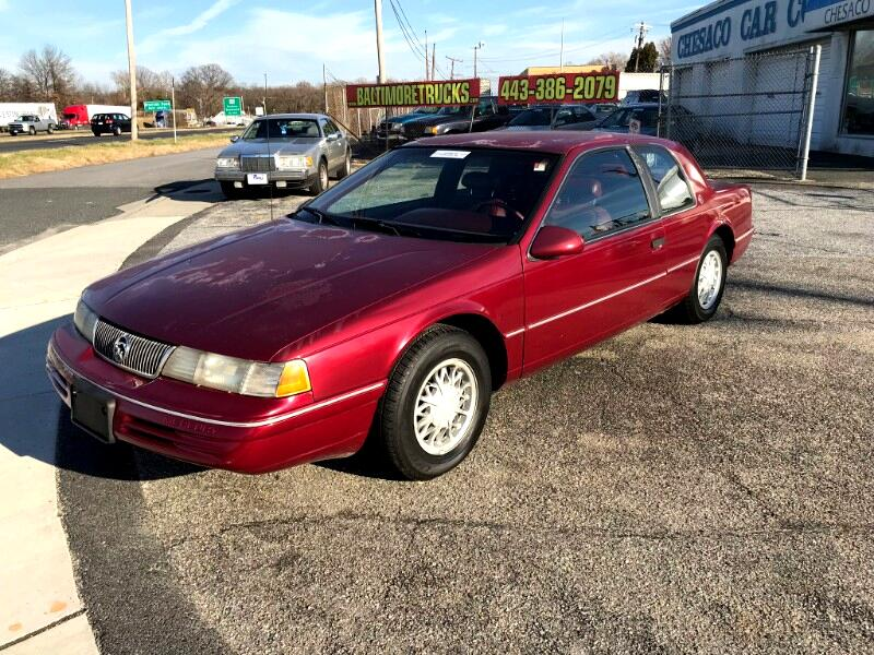 1993 Mercury Cougar 2dr Sedan XR7