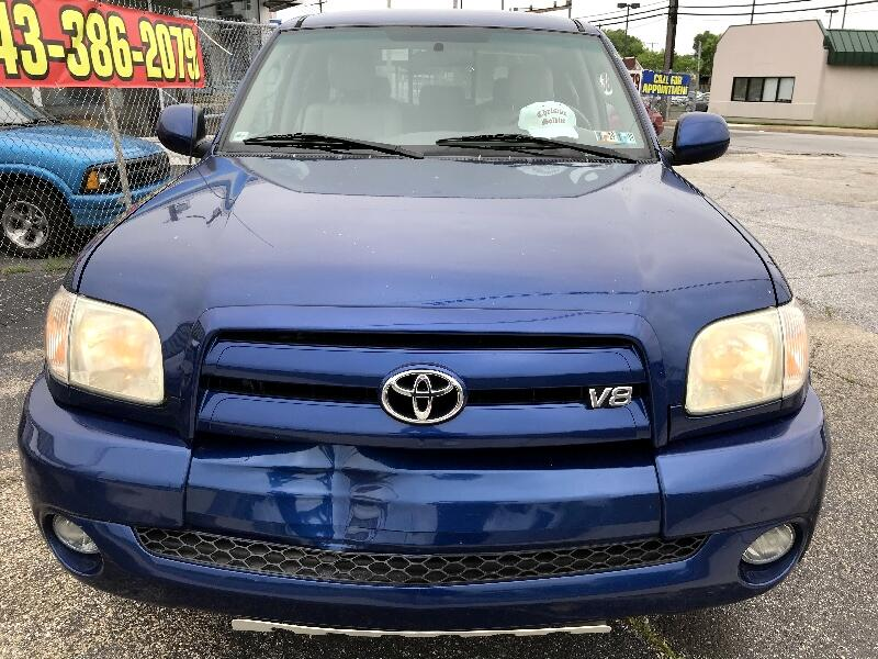 2005 Toyota Tundra AccessCab V8 Ltd 4WD (Natl)