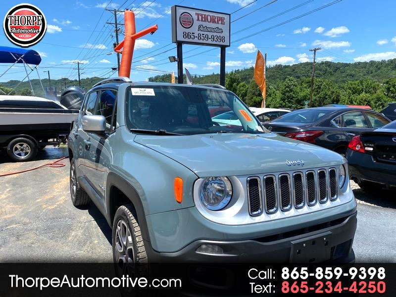 Jeep Renegade Limited 4WD 2017