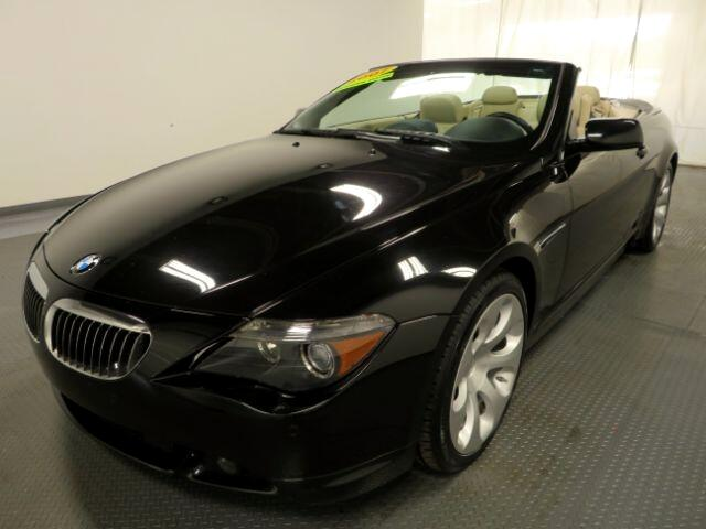 2007 BMW 6 Series 2dr Conv 650i
