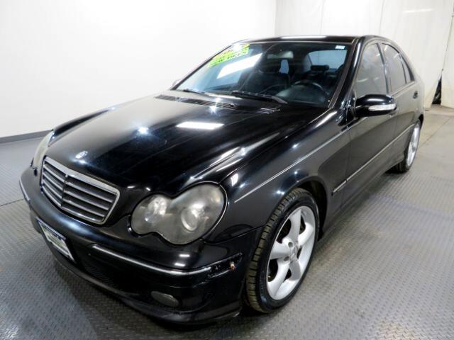 2005 Mercedes-Benz C-Class 4dr Sdn Sport 1.8L Manual