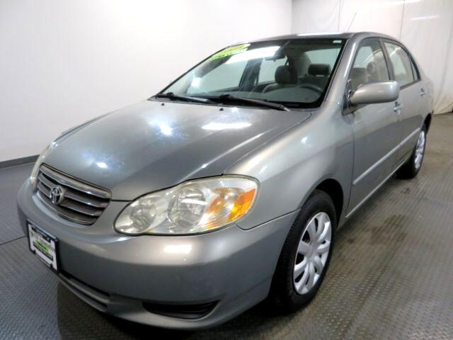 2003 Toyota Corolla 4dr Sdn CE Manual (Natl)
