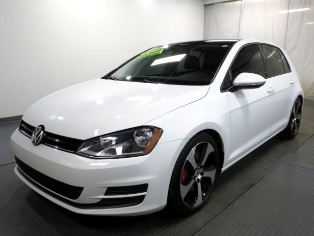 2015 Volkswagen Golf 4dr HB Man TSI S w/Sunroof